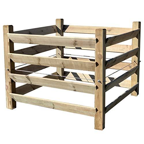 Holz Kompostsilo'BIO' - Komposter mit Zuganker...