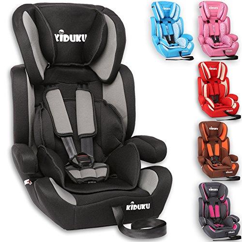 KIDUKU® Kindersitz 9-36 kg (1-12 Jahre) -...
