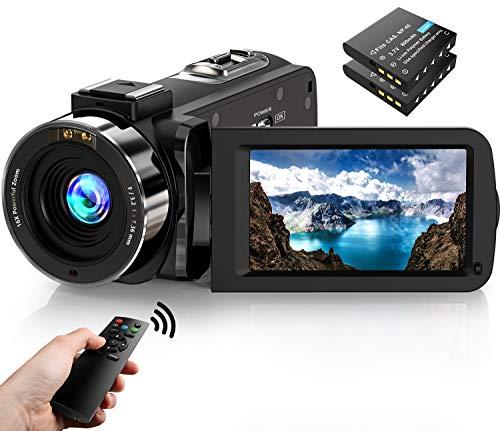 Videokamera Camcorder1080P FHD 30FPS 36MP IR...