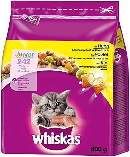 Whiskas Katzenfutter Trockenfutter Junior