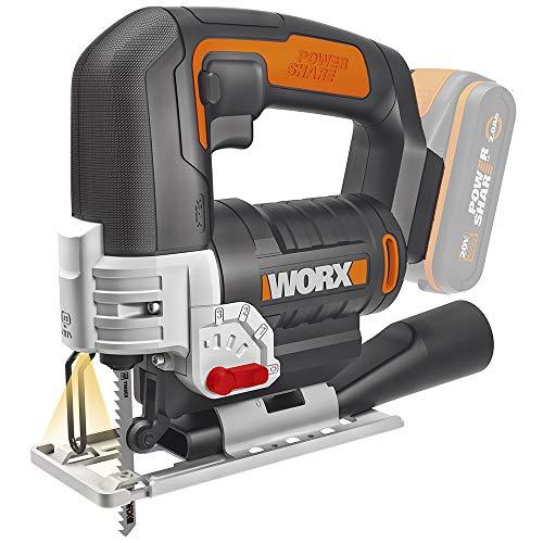 Worx WX543.9 Akku-Pendelhub-Stichsäge – Profi...