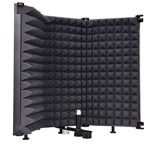 Sararoom Faltbarer Mikrofon-Isolationsschutz,...