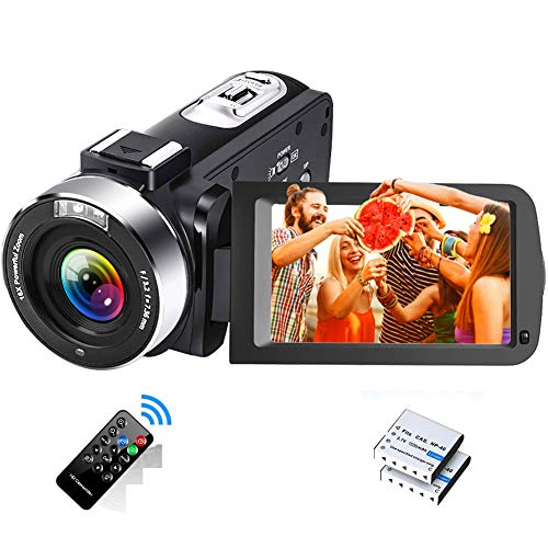 Videokamera Full HD 2.7K 30FPS Camcorder Tragbare...