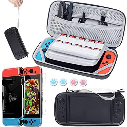 Tasche Kompatibel für Nintendo Switch Konsole und...