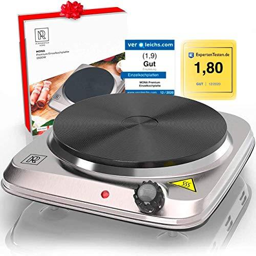 M. ROSENFELD HOME Premium Kochplatte Einzeln 1500W...