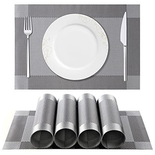 ISIYINER Tischset, Platzset 6er Set rutschfest...