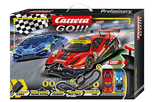 Carrera GO!!! Race the Track Rennstrecken-Set  ...