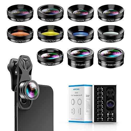 Apexel 11-in-1-Handy Kamera-Objektiv Set -...