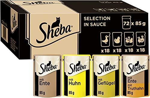 Sheba Selection in Sauce – Katzenfutter mit...