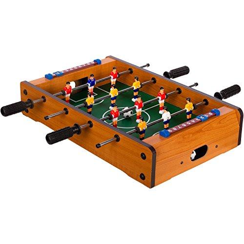 Maxstore Mini-Tisch-Kicker Tischfussball...