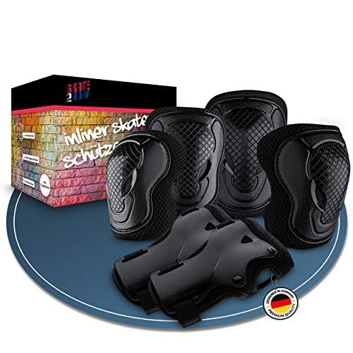 Skate2Now® Inliner Schützer für Kinder &...