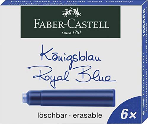 Faber-Castell 185506 - Tintenpatronen Standard, 6...