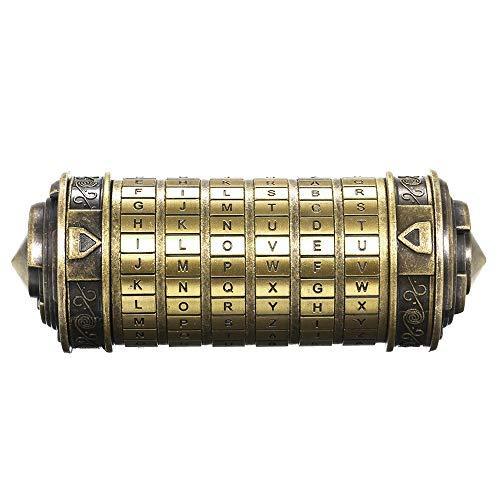 Decdeal Da Vinci Code Mini Cryptex Schlösser...