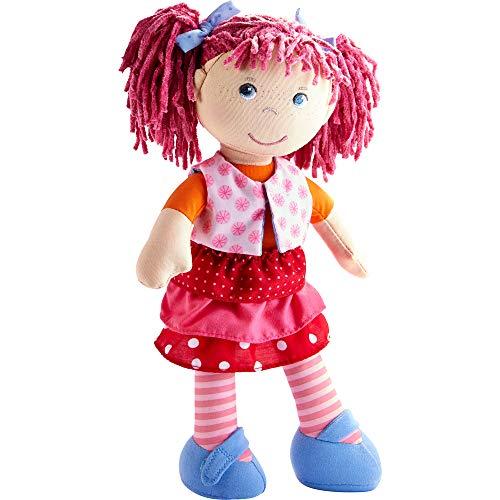 Haba 302842 - Puppe Lilli-Lou, süße Weich- und...