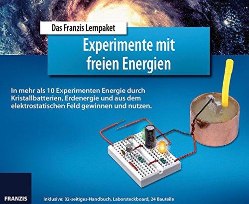 FRANZIS Lernpaket Experimente mit freien Energien:...