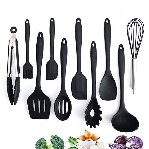 Adkwse Küchenset Silikon, Kochbesteck Set...