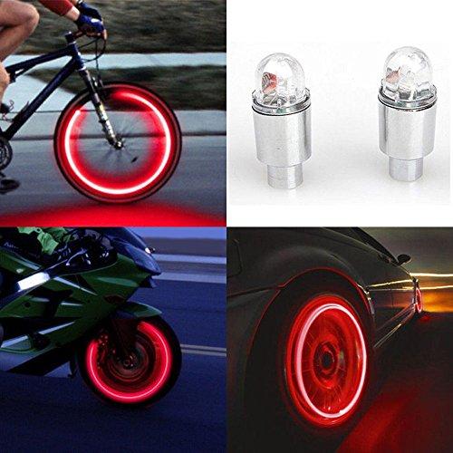 MMLC 2 stücke LED Wasserdichte Reifen...