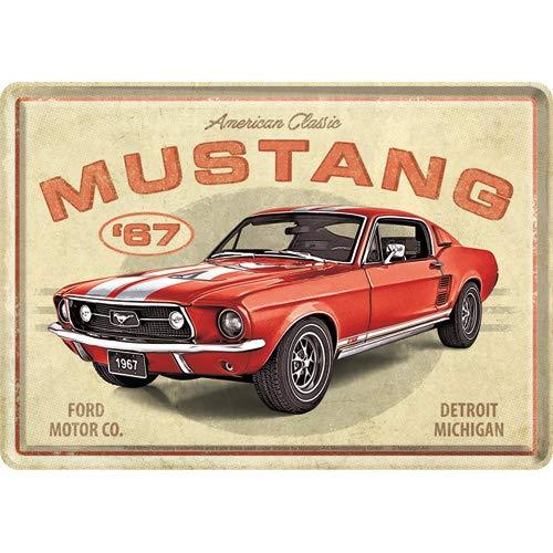Nostalgic-Art, Retro Grußkarte, Ford Mustang –...