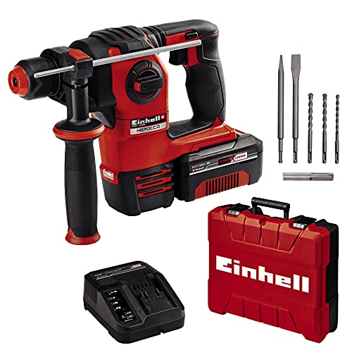 Einhell Akku-Bohrhammer HEROCCO Kit + 5 Power...
