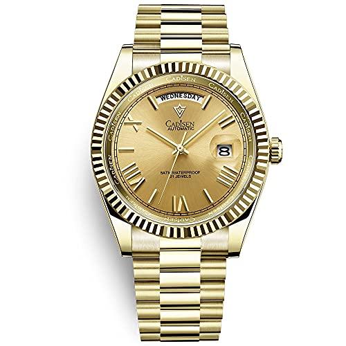 CADISEN Mechanical Watch Herrenmode Automatikuhr...