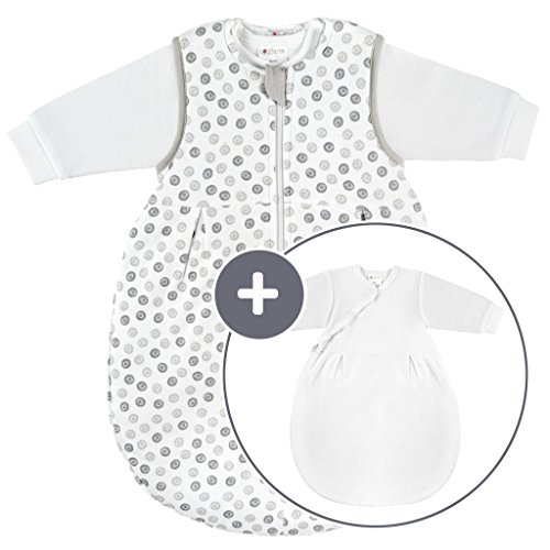 Coconette Ganzjahres Baby-Schlafsack Circle -...