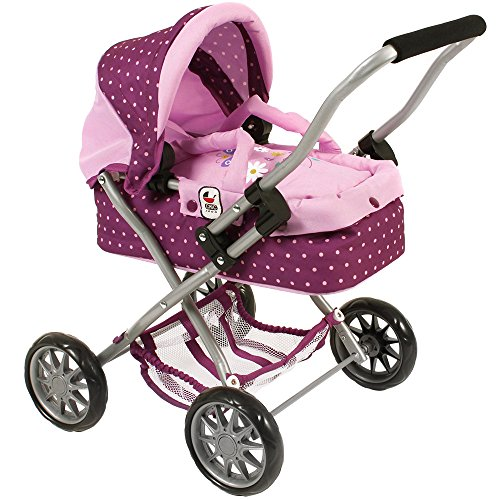 Bayer Chic 2000 555 29 Puppenwagen Smarty, lila,...