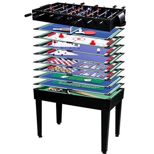 Maxstore Multigame Spieletisch Mega 15 in 1, inkl....