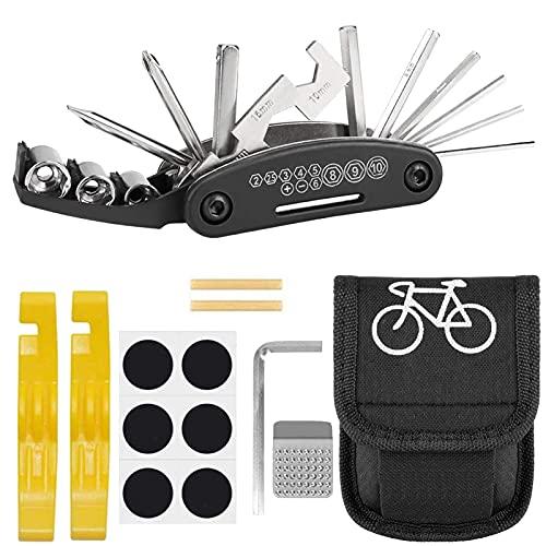 Atuful Fahrrad Werkzeug Set 16 in 1 Multitool...