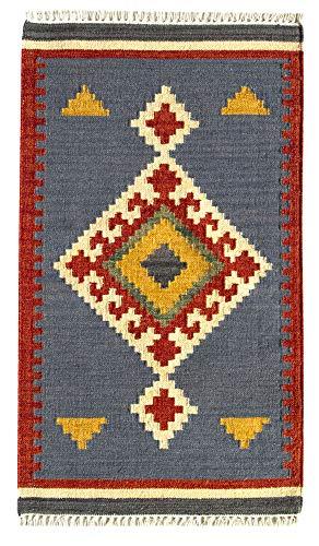 HAMID - Kelim Teppich Lori mit Geometrischem...