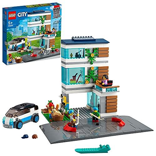 LEGO 60291 City Modernes Familienhaus, Puppenhaus...