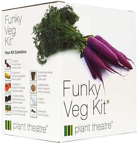 """Plant Theatre """"Funky Veg"""" Saatgut-Kit -..."""