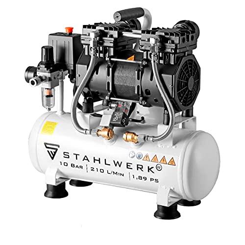 STAHLWERK Kompressor Druckluft Flüsterkompressor...