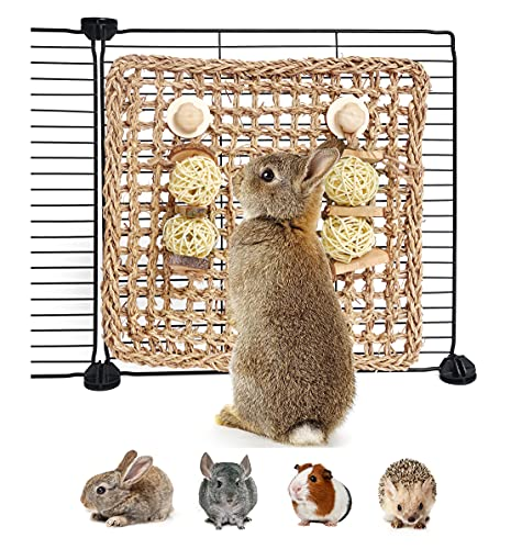 YUNXANIW Hamster Spielzeug, Kaninchen Zubehoer,...