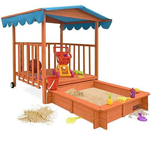 Sandkasten Dach XL | Sonnenschutz UV 50 |...