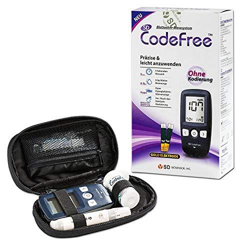 SD CodeFree Blutzuckermessgerät Set mit...