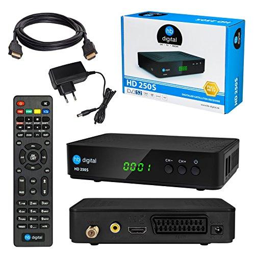 Satelliten SAT Receiver DVB-S DVB-S2 Set: HB...