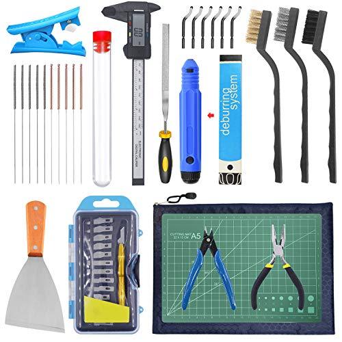 HAWKUNG 42 Stück 3D Drucker Tool kit, Debur Tool,...