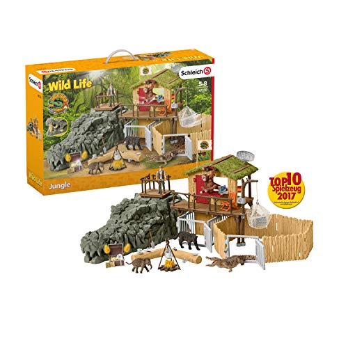 Schleich 42350 Wild Life Spielset - Dschungel...