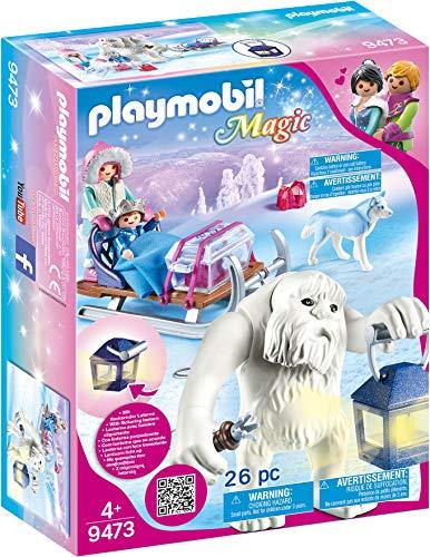 PLAYMOBIL Magic 9473 Schneetroll mit Schlitten und...