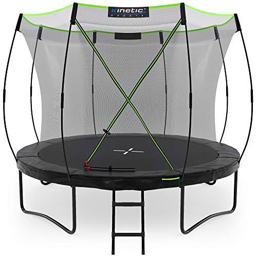Kinetic Sports Gartentrampolin TUP1000, 305 cm,...