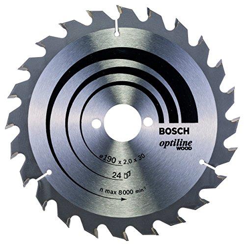 Bosch Professional Kreissägeblatt Optiline Wood...
