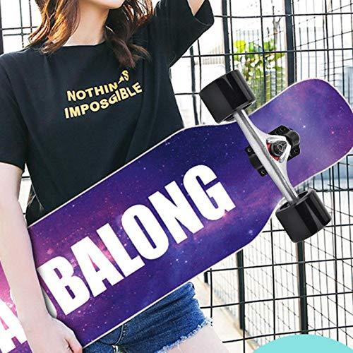 DAUERHAFT Skateboard Truck Combo Set Skate Wheel...