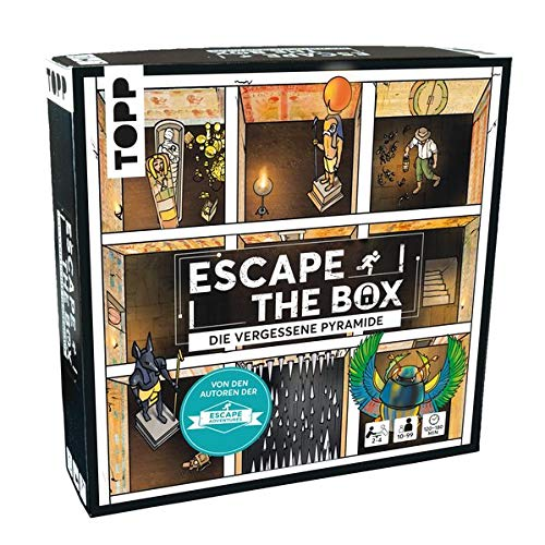 Escape The Box – Die vergessene Pyramide: Das...