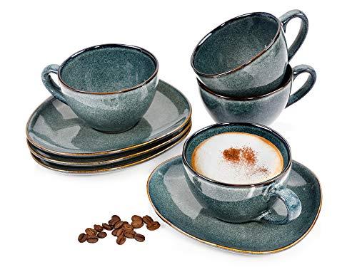 Kaffeetassen Set Dawin 8 teiliges Tassen Set für...
