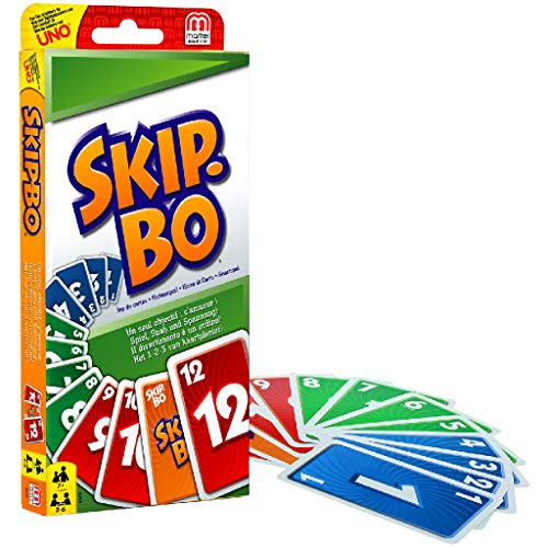 Skip-Bo: Beim Skip-Bo ist die strategische...