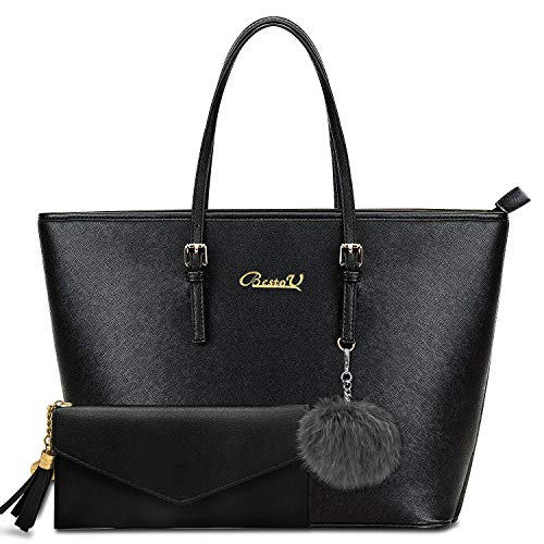 BestoU Damen Handtasche, Shopper Handtasche...