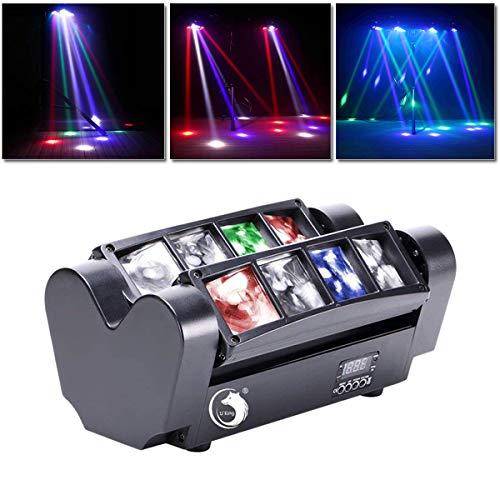 UKing Head LED Lichteffekt, DJ Partylicht Disco...