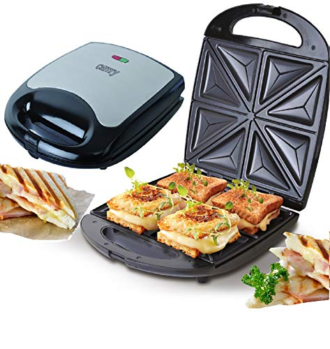 4er Sandwichmaker | 1500 Watt | Sandwich Maker |...