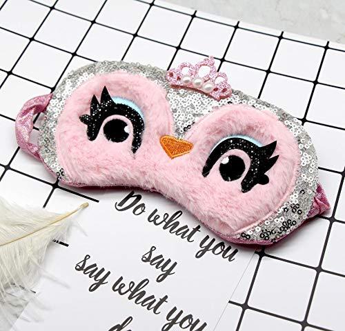 Schlafmaske mit Cartoon-Motiv, für Mädchen,...