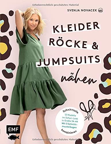 Kleider, Röcke und Jumpsuits nähen: Schnittteile...